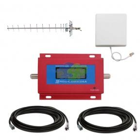 Комплект посилення зв'язку GSM 900 МГц з підсилювачем RDX GSM902AA і антеною 19дБ (мобільний зв'язок)