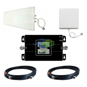 Комплект посилення зв'язку GSM / 3G UMTS 900/2100 МГц з підсилювачем Lintratek KW17L-GW (мобільний зв'язок і 3G інтернет)