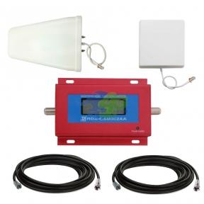 Комплект усиления связи GSM 900 МГц с усилителем RDX GSM902AA (мобильная связь)