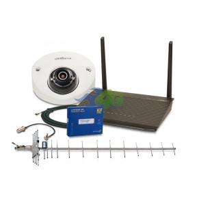 Комплект 3G інтернету Інтертелеком і віддаленого відеоспостереження