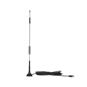 Автомобільна 3G/4G антена InterGSM A5S посиленням 5 dBi SMA 800-2600 МГц (Київстар, Vodafone, Lifecell, Трімоб)