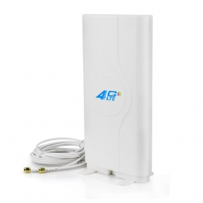 Комнатная 4G LTE MIMO антенна InterGSM A9SMA усилением 9 dBi 800-2600 МГц  переходник SMA (Киевстар, Vodafone, Lifecell)