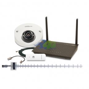 Комплект 3G/4G интернета и удаленного видеонаблюдения