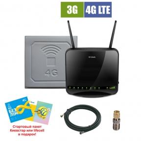 Комплект беспроводного 3G/4G интернета InterGSM Home Internet L2