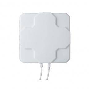 Панельна 4G LTE MIMO антена InterGSM A22 посиленням 22 dBi 800-2600 МГц (Київстар, Vodafone, Lifecell)