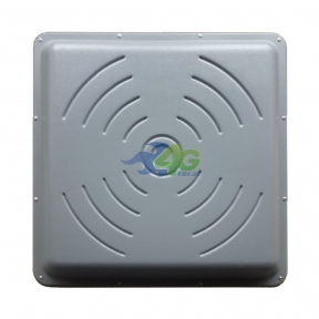Панельная 4G LTE антенна R-Net Квадрат Premium MIMO усилением 2 x 24 dBi (1700-2700 МГц)