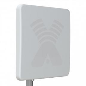 Антенна 3G/4G LTE MIMO панельная Antex ZETA-F усилением 20 Дб (1700-2700 МГц)