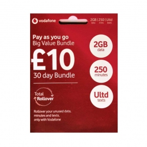 Стартовый пакет Vodafone UK