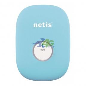 Ретранслятор WiFi Netis E1+ Blue