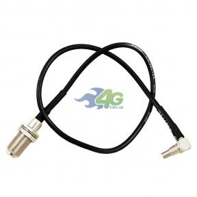 Антенный переходник (pigtail) MS147 - F-female (кабель RG174)
