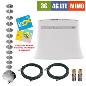 Комплект беспроводного 3G/4G интернета InterGSM Home Internet Z4