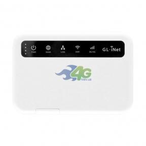 Мобильный 4G LTE WiFi роутер GL-iNet GL-MiFi 4G с OpenWRT и VPN