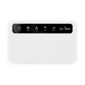 Мобильный 4G LTE WiFi роутер GL-iNet Puli (GL-XE300) с VPN, WireGuard и настраиваемым DNS-сервером + TOR