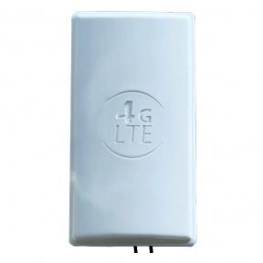 Панельная 4G LTE MIMO антенна InterGSM A24V2 усилением 24 dBi 1800-2600 МГц (Киевстар, Vodafone, Lifecell)