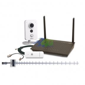 Комплект 3G / 4G інтернету і віддаленого відеоспостереження