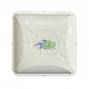 Панельная 3G/4G LTE MIMO антенна Runbit Alta усилением 2 x 16 dBi (1700-2700 МГц)