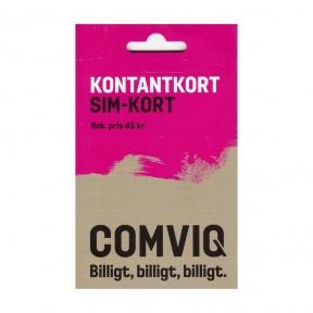 Стартовый пакет Comviq Sweden