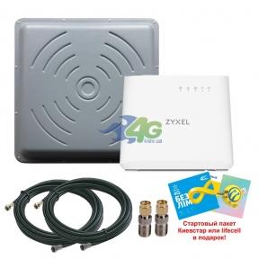 Комплект беспроводного 3G/4G интернета InterGSM Maximum 2