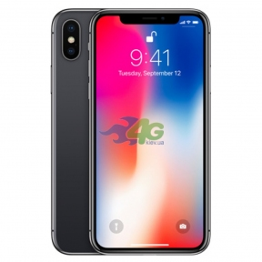Смартфон Apple iPhone X 256GB Space Gray CDMA (A1865)