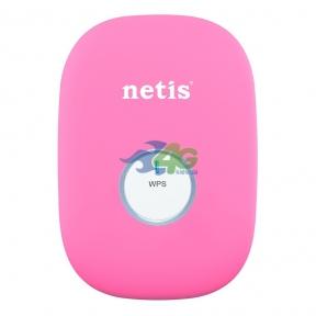 Ретранслятор WiFi Netis E1+ Pink