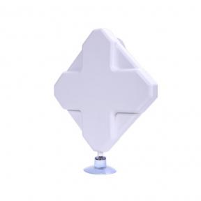 Панельна 4G LTE MIMO антена InterGSM A9M посиленням 9dBi 800-2600 МГц (Київстар, Vodafone, Lifecell)