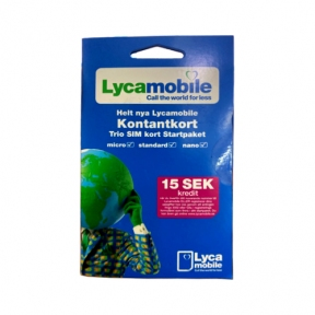 Стартовый пакет LycaMobile (Poland)