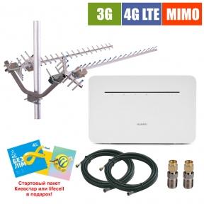 Комплект беспроводного 3G/4G интернета InterGSM Home Internet H4