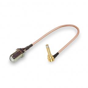 Антенный переходник (pigtail) MS156 - F-female (кабель RG316)