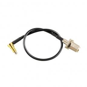 Антенный переходник (pigtail) MS156 - F-female (кабель RG174)