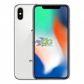 Смартфон Apple iPhone X 64GB Silver CDMA (A1865)