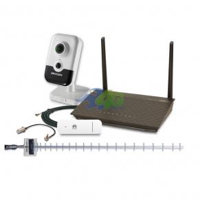 Комплект 3G/4G інтернету і віддаленого відеоспостереження