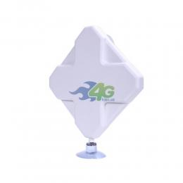Антенна панельная 4G LTE MIMO усилением 9Дб 800-2600 МГц (Киевстар, Vodafone, Lifecell)