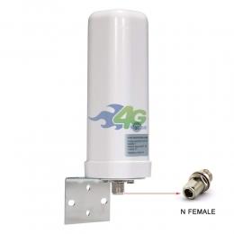 Наружная всенаправленная антенна Lysignal 2G/3G/4G усилением 9 Дб 700-2700 МГц (Киевстар, Vodafone, Lifecell)