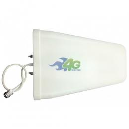 Антенна логопериодическая GSM/UMTS/LTE усилением 10 Дб 800-2700 МГц (Киевстар, Vodafone, Lifecell)