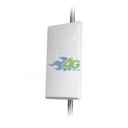 Антенна панельная 4G LTE MIMO усилением 24Дб 1800-2600 МГц (Киевстар, Vodafone, Lifecell)