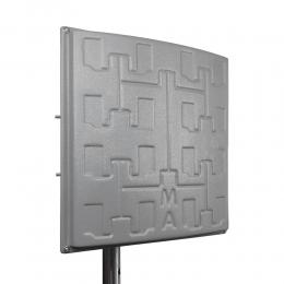 Панельная 3G/4G LTE MIMO антенна Сарма+ усилением 2 x 19 dBi 1700-2600 МГц (Киевстар, Vodafone, Lifecell)
